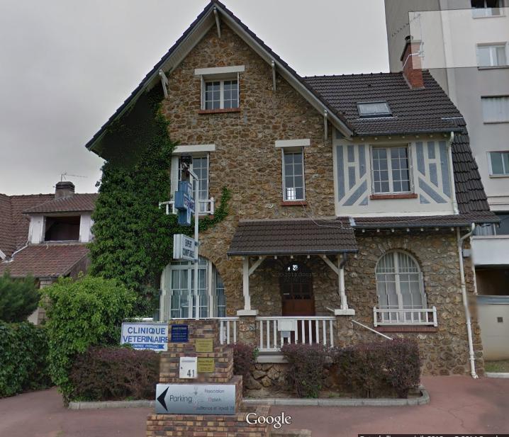"""Maison de la """"Souffrance et travail"""" de Poissy"""